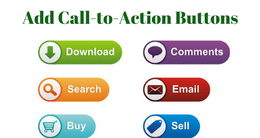 Give Call to action buttons