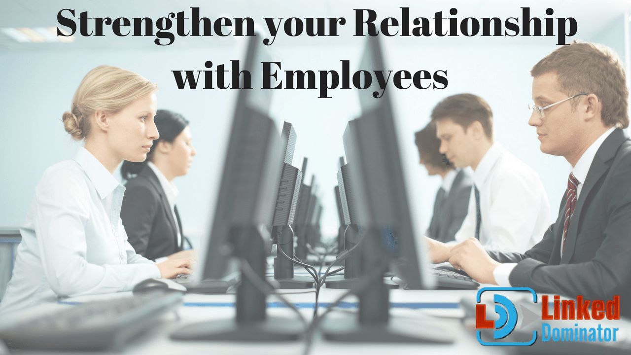 Business Person: Accelerate your Employees and strengthen your Relationship