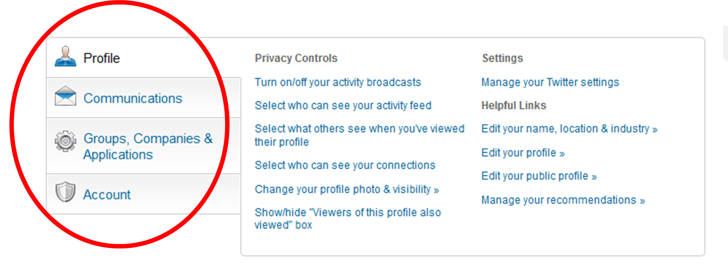 how to make your linkedin profile private