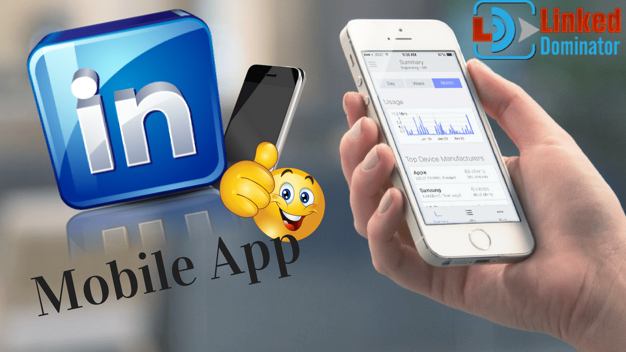 How to use LinkedIn Mobile App efficiently for Business?