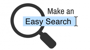 Make your search easy