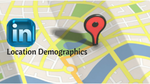 LinkedIn location demographics